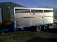 24-36ft Low Ride Height Stock Box Trailer thumbnail