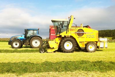 Aberdeen Ploughing Grass Seed Sowing Hay Bale Gathering